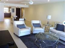 Immaculate, Turnkey ready, Simply stunning, Ocean front Lacovia, ground flr. corner unit,  steps to 7MB